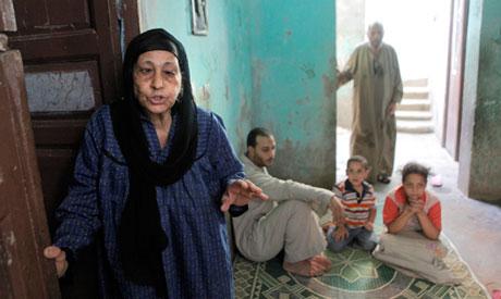 Mother at Dahshur Village, Giza