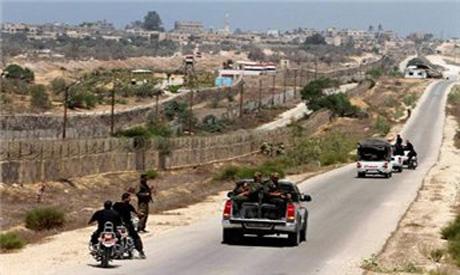 Egypt-Gaza borders