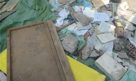 Destroyed Book kiosks