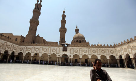 Al Azhar mosque in Old Cairo