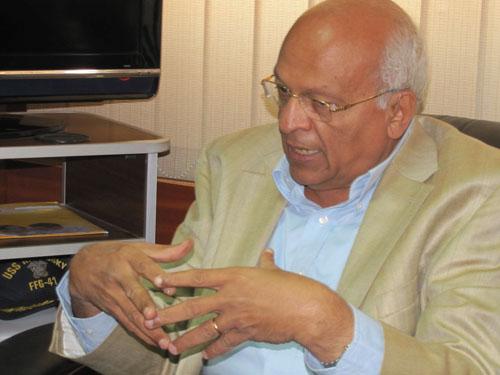 Writer and Novelist Gamal El-Ghitani
