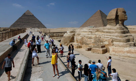 Egypt receives 8.3 pct more tourists in July 2012