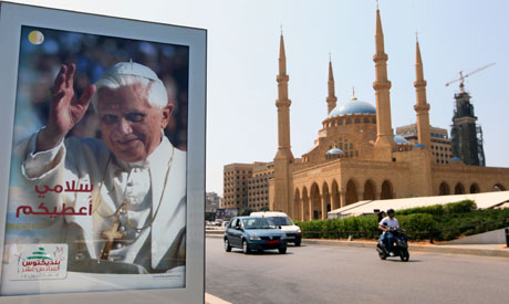 Pope visits a still-divided Lebanon