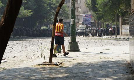 US embassy clashes