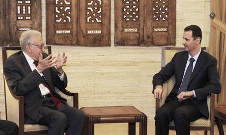Brahimi meets AL Assad