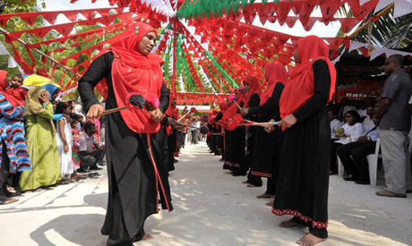 Maldives traditional dance