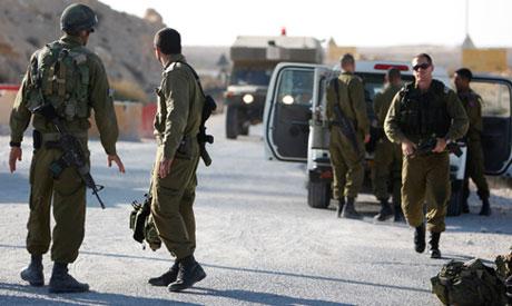 Gunmen killed on Egypt-Israel border