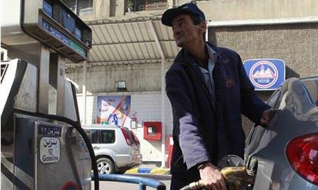 Egypt petrol stations