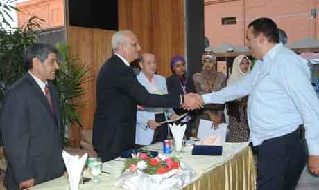 Ibrahim honouring one of the FEMO