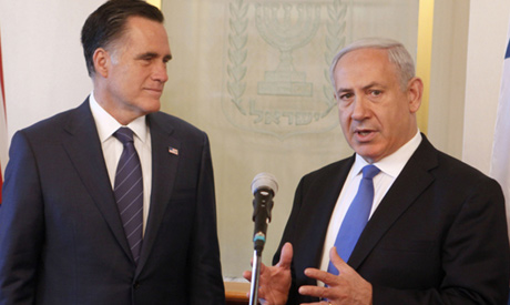 romney and netanyahu relationship