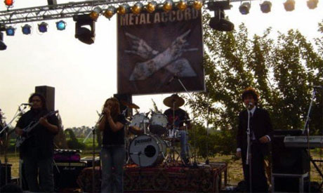 An Egyptian Metal Band