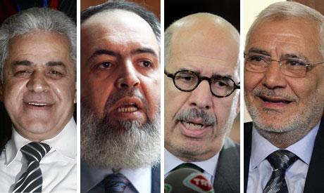 Hamdeen, Hazem, Baradie and Abou-elfotouh