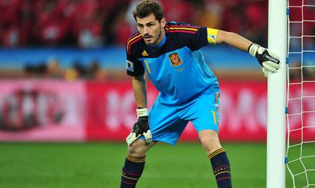 Casillas, Xavi win prestigious sports award