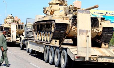 Egyptian army in Sinai