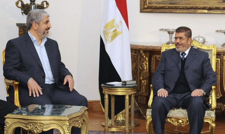 Morsi and Meshaal