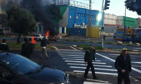 Tel Aviv car blast
