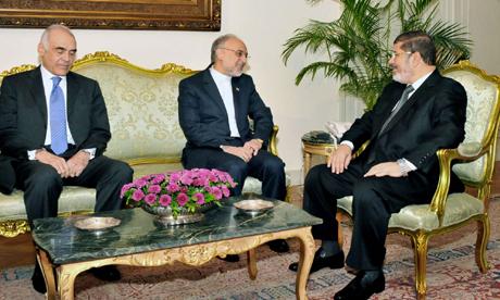 Iran FM in Cairo
