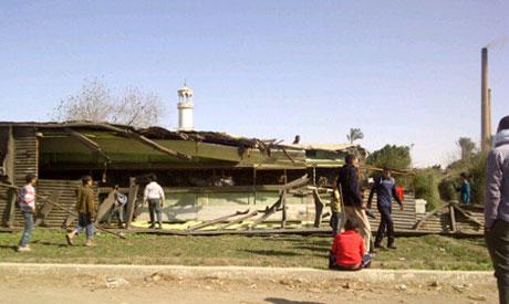 Site of train crash (Photo: Lina Wardani)