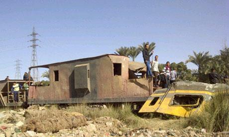 Badrahin train crash
