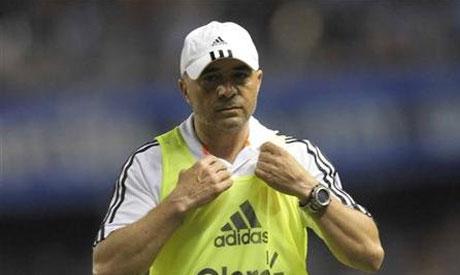 Coach Jorge Sampaoli of Chile