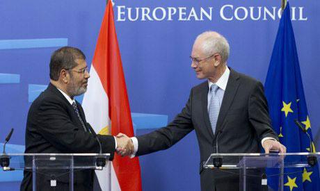 Morsi and Brotherhood embark on pre-elections PR drive