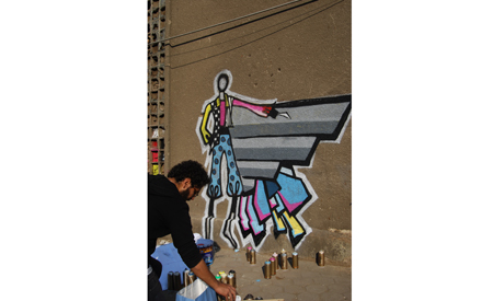 Graffiti in Cairo. Photo: Rowan El Shimi