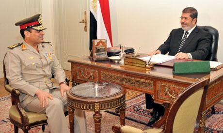 Sissi and Morsi