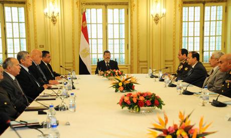 Morsi with NDC