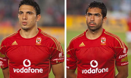 Ahly key players Fathi and Geddo