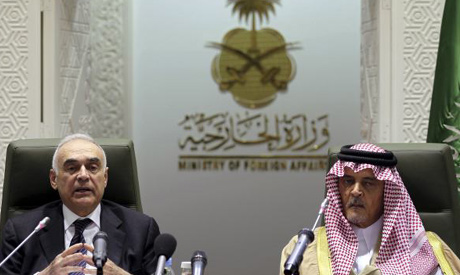 Mohamed Kamel Amr and Saud Al-Faisal
