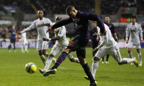 Arsenal 2-2 Swansea City