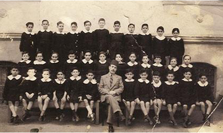 Egyptian Jewish Students during the first half of the 20th Century