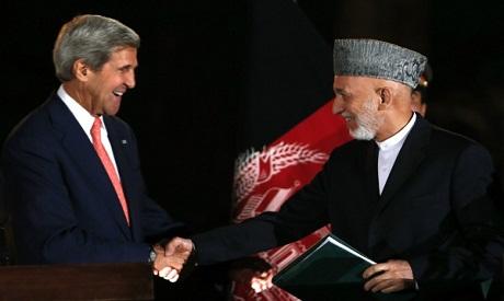 Kerry, Karzai