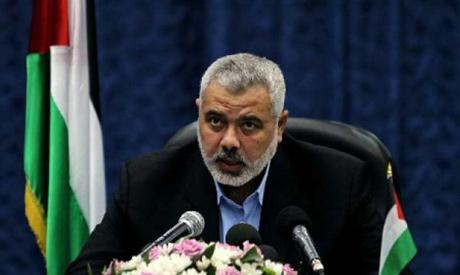 Senior Hamas leader Ismail Haniya (AP)