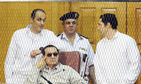 Mubarak and his sons
