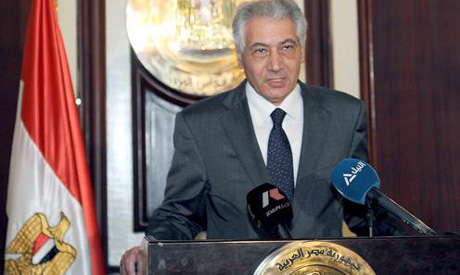 Interim Finance Minister, Ahmed Galal