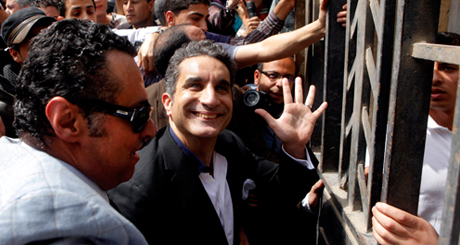 Egyptian popular television satirist Bassem Youssef