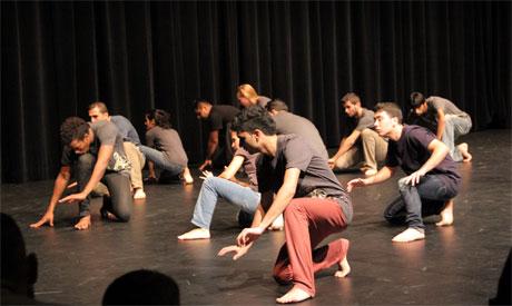 Berlin refugees performance