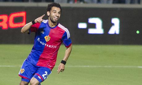 FC Basel Mohamed Salah