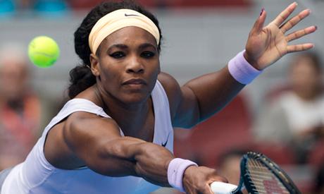 Serena Williams of U.S.