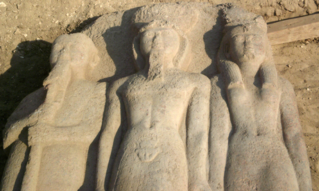 Life-size statue of king Ramses II found in Sharkiya