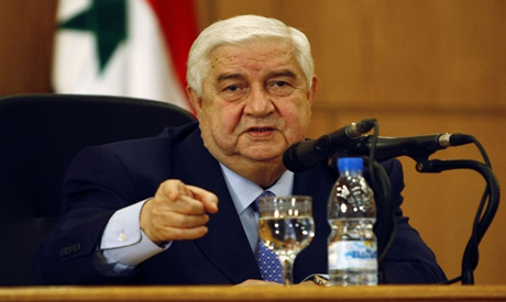 Foreign Minister Walid Muallem