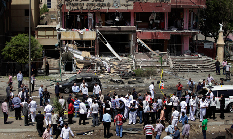 bomb attack targeting the convoy of Egypt