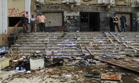 Al Azhar University in Cairo