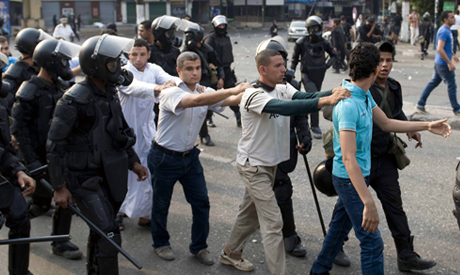 detained Pro-Morsi protesters