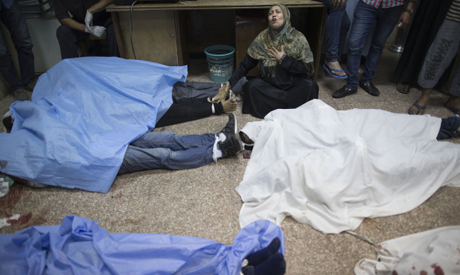 Victims of cairo clashes