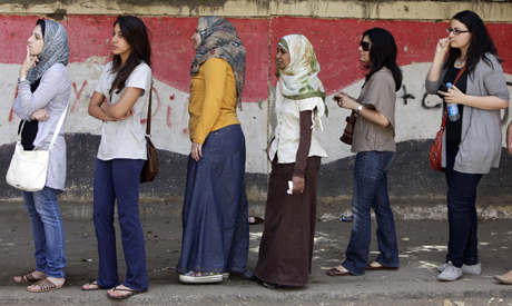 Egyptian women