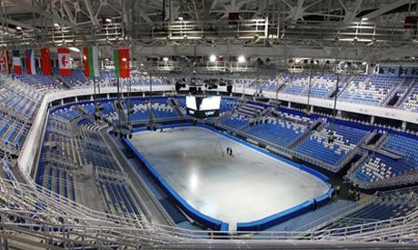 the Olympic Park for the Sochi 2014 Winter Olympic Games