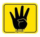 Rabaa sign