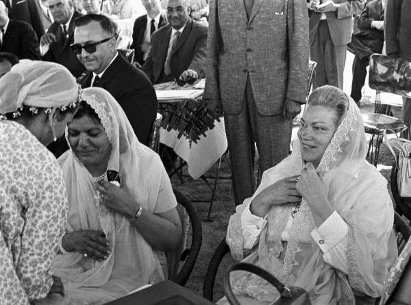 The wives of Gamal Abdel Nasser and Alexei Kosygin